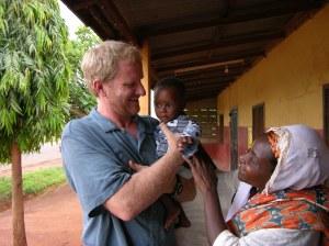 Chuck Paulson in Ghana
