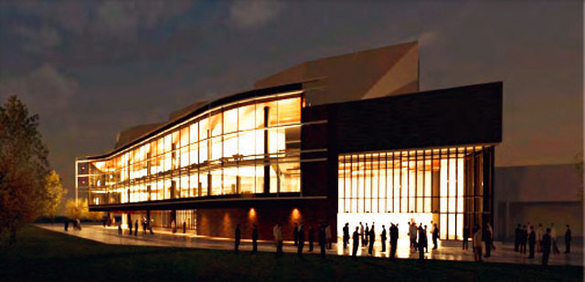 Concept of the New Helland Center