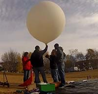 MCTC balloon launch