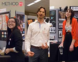 MCTC's Method portfolio student Peer-to-Peer award winners